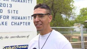 Clarence Gardipy, an inmate at Willow Cree Healing Lodge
