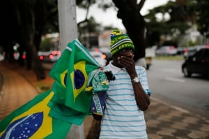 Brazil World Cup street vendor