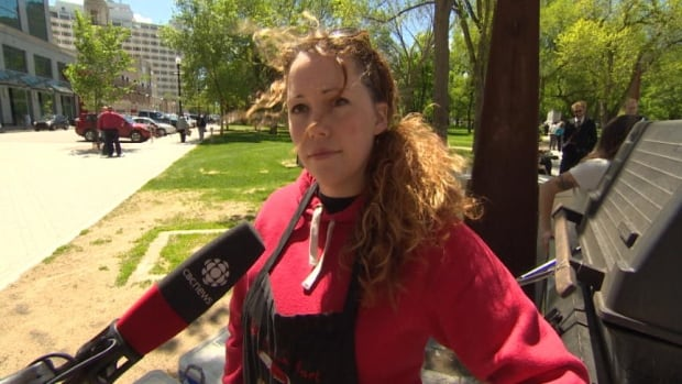 Food vendor Ashlee Storey is from New Brunswick and knew one of the RCMP officers killed last week in Moncton.