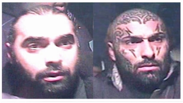 Elias Akl (left) and Ziad Akl (right) were wanted in connection with an assault on a bouncer at an after hours club in Laval in December 2009.