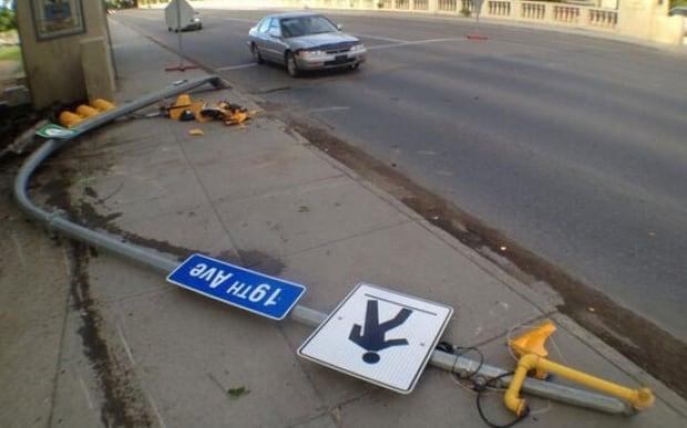 Crash at Albert St. skpic