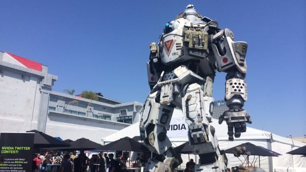 This huge replica of a Titan from the video game Titanfall is on display outside the LA convention centre at the 2014 Electronic Entertainment Expo (E3). If there is bad news for gamers at the show, it's that 2014 is looking like a soft year in terms of big releases, especially from Sony and Microsoft themselves.