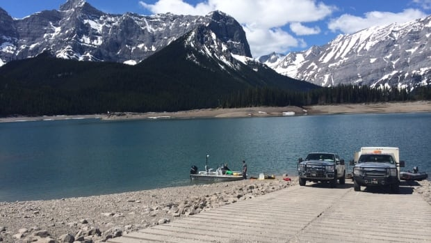 The body of a 31-year-old male was recovered from the Upper Kananaskis Lake Tuesday.