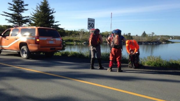 Ground searchers are now entering the bush searching for the missing man at Crystal Crescent Beach.