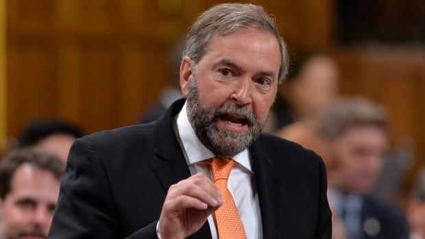 NDP Leader Tom Mulcair along with 25 other NDP MPs have been asked to repay $1.17 million for ineligible mass mailouts.