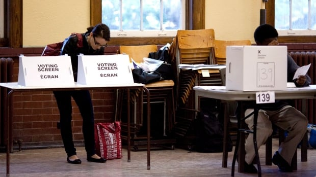 Polls are open 9 a.m. to 9 p.m. Thursday, election day in Ontario.