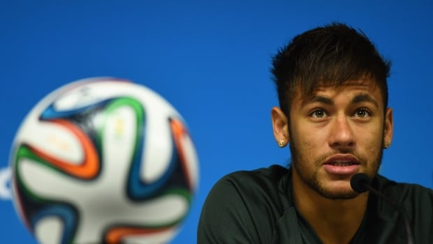 Neymar of Brazil is expected to be one of the biggest stars of the World Cup. He's popular with Brazil fans and media.