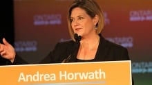 Andrea Horwath — Ontario election