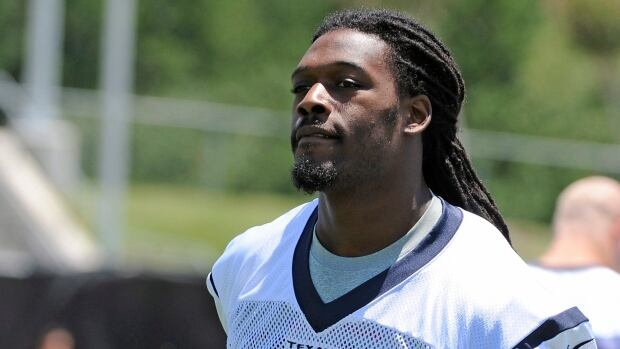 Houston Texans first round draft pick Jadeveon Clowney is seen at rookie camp last month.