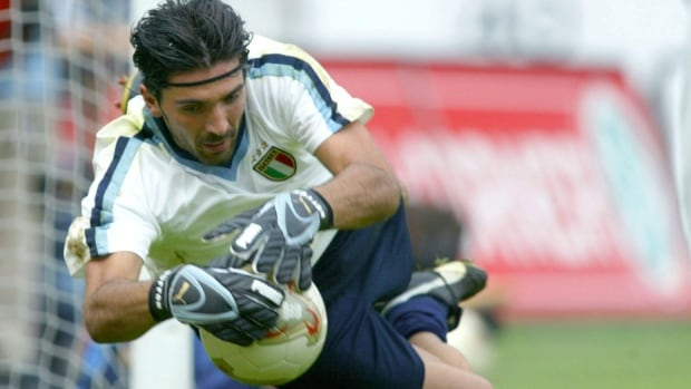 Italy's captain, goalkeeper Gianluigi Buffon twisted his ankle in Friday's training session and will miss the team's opening match against England, according to Italian reports.