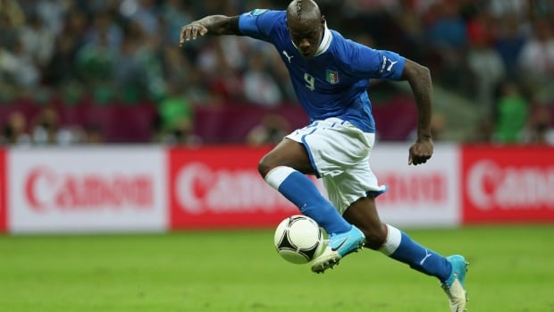 Mario Balotelli is hard to contain and has a laser beam of a shot.