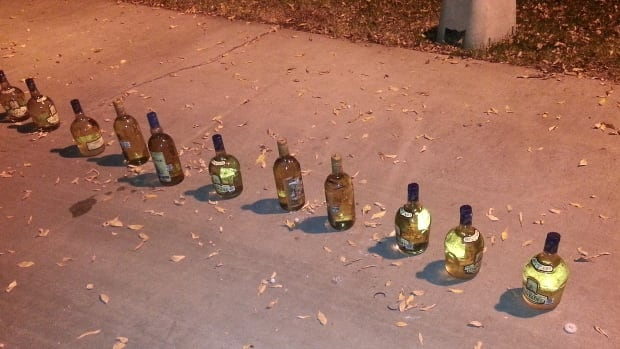 A traffic stop led to the seizure of multiple tequila bottles disguising liquid methamphetamine near Coalinga, Calif.