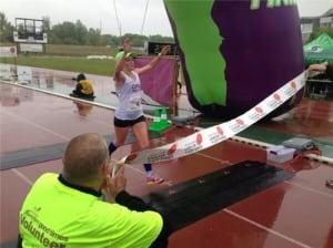 Alice Sherwin, Manitoba Marathon winner