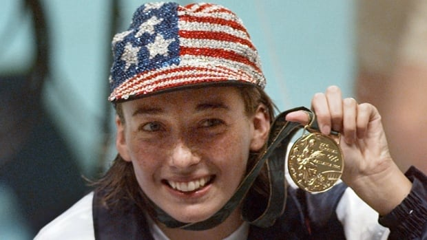 Amy van Dyken-Rouen won four gold medals at the 1996 Atlanta Olympics and two more in Sydney before retiring. Now paralyzed following an ATV accident, she will continue her rehabilitation in her hometown of Denver.