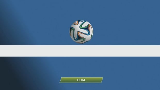 France's second goal barely crossed the line, but was awarded after goal-line technology was used.