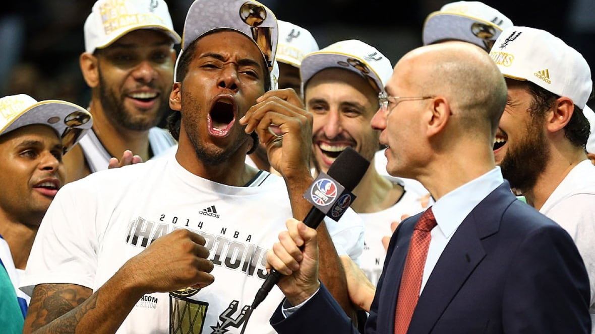 Kawhi Leonard wins NBA Finals MVP after leading Spurs ...