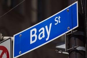 Bay St Bay Street sign