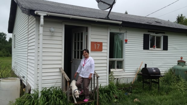 Sharon Ward is pleased to be home after she was evacuated following last week's train derailment near West River Station, Pictou County.