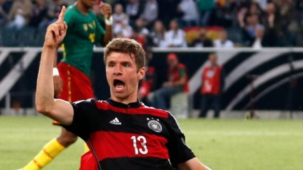 Thomas Mueller of Germany is one of the best players at this year's World Cup in Brazil.
