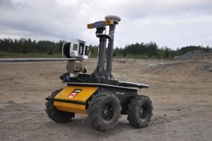 Husky vehicle by clearpath robotics