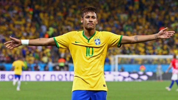 Neymar is hoping to lead the host nation to the knockout round, as Brazil clashes with Cameroon in its final match of Group A.
