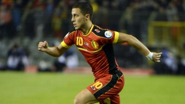 Belgium's Eden Hazard is the complete package as an attacking midfielder.