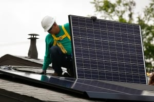 SOLARCITY solar panels power electricity