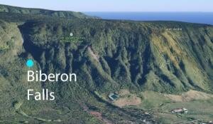 Biberon falls