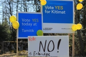 Vote yes for Kitimat Northern Gateway