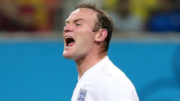 England striker Wayne Rooney came under fired following a muted performance in their opening 2-1 defeat to Italy in Group D on Saturday.