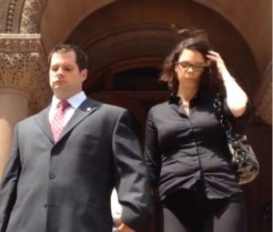 Const. James Forcillo seen leaving court on Tuesday.