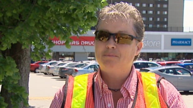 Lea Nicholas with the Quinpool Centre says she writes about 20 tickets a day to commuters.