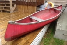 Body found Gatineau River June 4 2014 canoe red