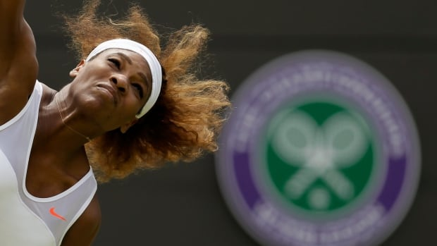 Serena Williams of the United States, seen at last year's tournament, is the top seed and will be gunning for a sixth Wimbledon title.
