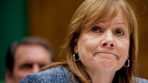 Mary Barra, chief executive officer of General Motors Co., testifies at a House Energy and Commerce Committee hearing in Washington earlier this year. Federal and state prosecutors are still probing GM's ignition switch recall.