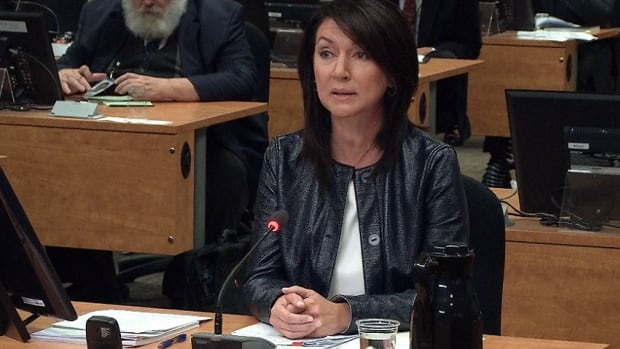 Ex-Liberal MNA Nathalie Normandeau testified at the Quebec corruption inquiry today.