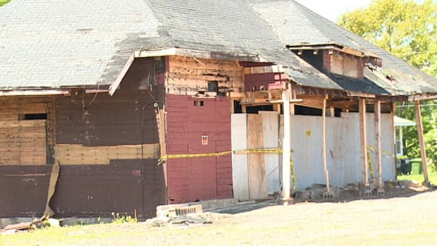 The Murray River village council in eastern P.E.I. decided to tear down its old train station.
