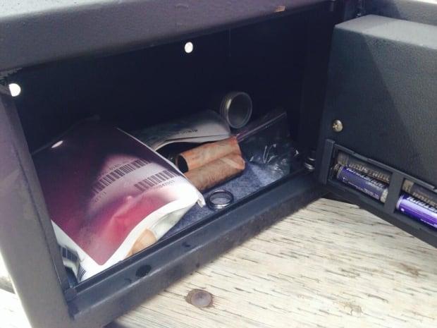 Ciociaro Club safety deposit box