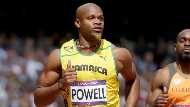 Jamaica's Asafa Powell, seen at the 2012 Olympics, has denied knowingly taking a banned substance.