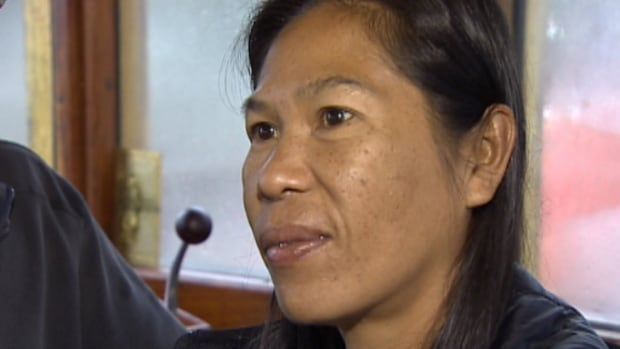 Somporn Chaingmanee was told to return to her home in Thailand.