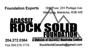Agassiz Rock Solid Foundation