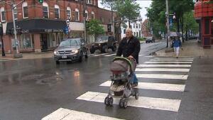 Fredericton pedestrian