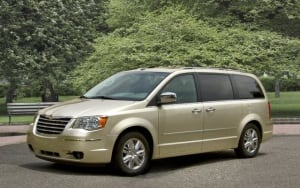 2010 Chrysler minivan