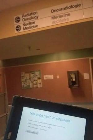 No hospital internet
