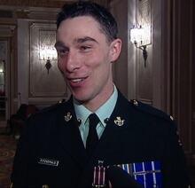 Collin Fitzgerald veteran PTSD medal valour 2007 archive