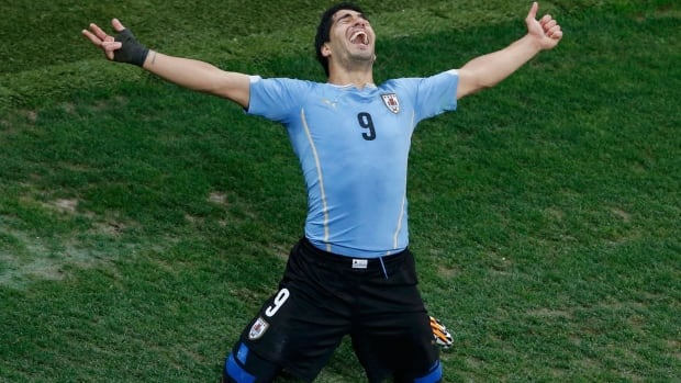 Luis Suarez rose to the occasion on Thursday, scoring twice to lead Uruguay to victory.