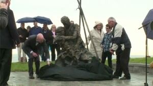 Sealers memorial unveiling