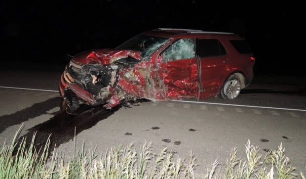 SUV in crash near Ralph, Sask.