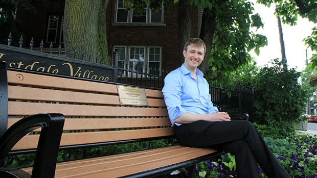 Aidan Johnson is running for ward 1 councillor. Johnson is happily in a same-sex marriage and has written about queer issues in the local media. Increasingly, experts say, voters don't care about the sex orientation of political candidates.