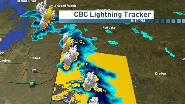 Kenora and Northwest Ontario were hit hard with rain this Friday night.